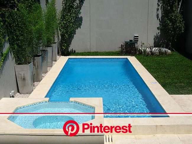 Piscina 8x4 c/jacuzzi | Luxury pools backyard, Swimming pool construction, Small pool design #beauty,#skincare