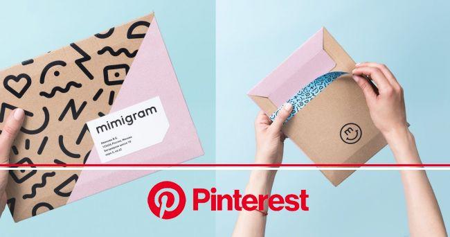Mimigram in 2021 | Creative packaging design, Packaging labels design, Mailer design #beauty,#skincare