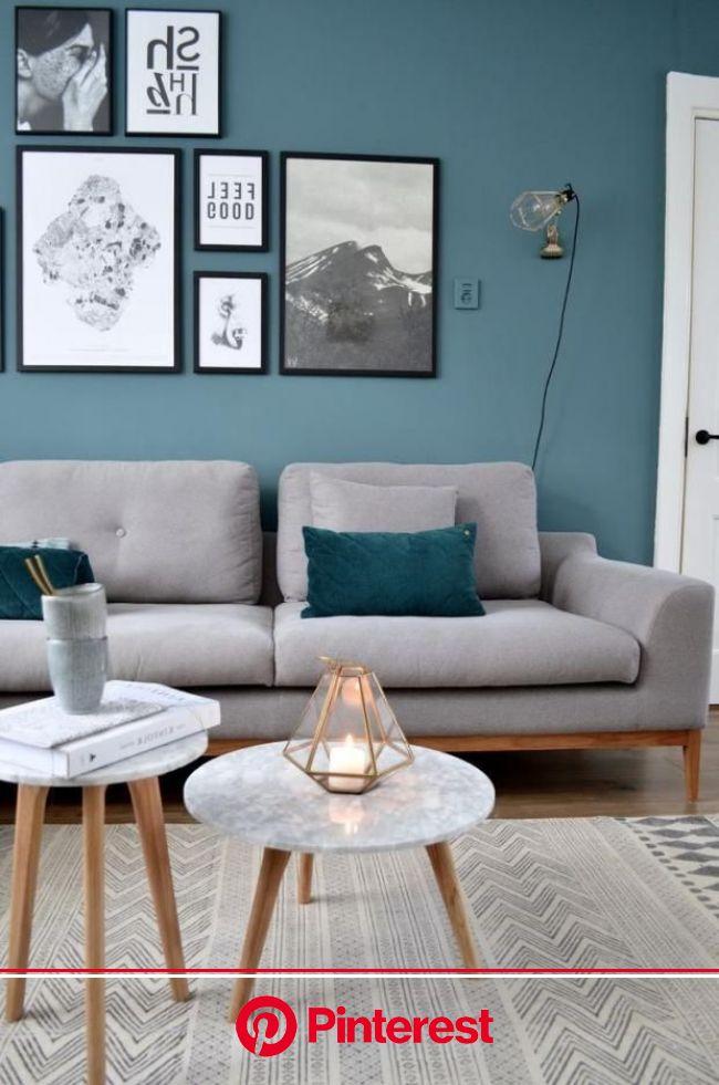 Тенденции дизайна интерьера 2018 года > 250 фото – модные цвета и тренды в интер…   Living room turquoise, Living room scandinavian, Modern scandin