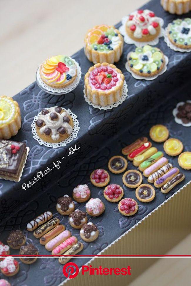 Colorful Miniature Patisserie   Miniature food, Mini foods, Tiny food #beauty,#skincare