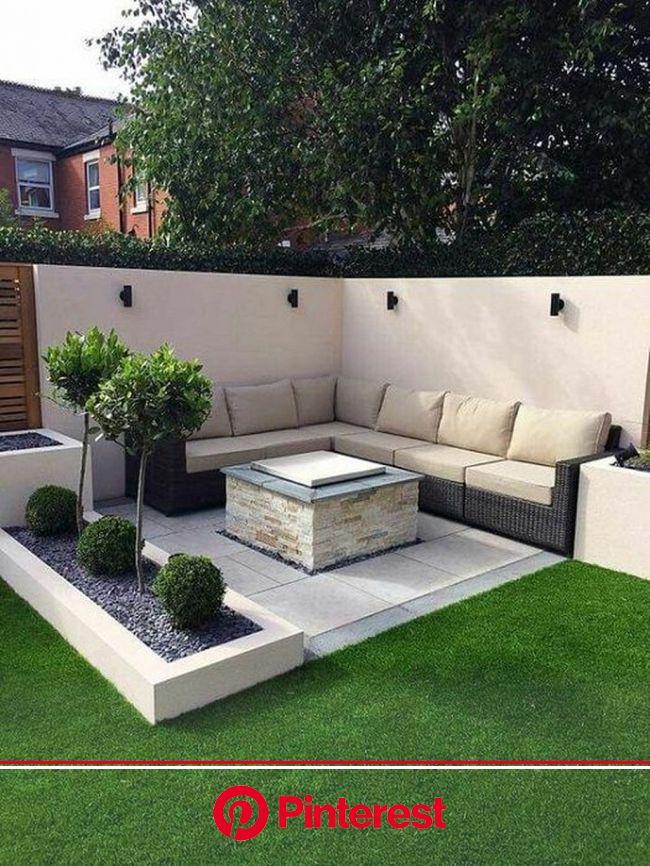 30 Amazing Backyard Seating Ideas - Page 7 of 30 - Gardenholic | Outdoor gardens design, Backyard garden design, Simple garden designs #beauty,#skinca