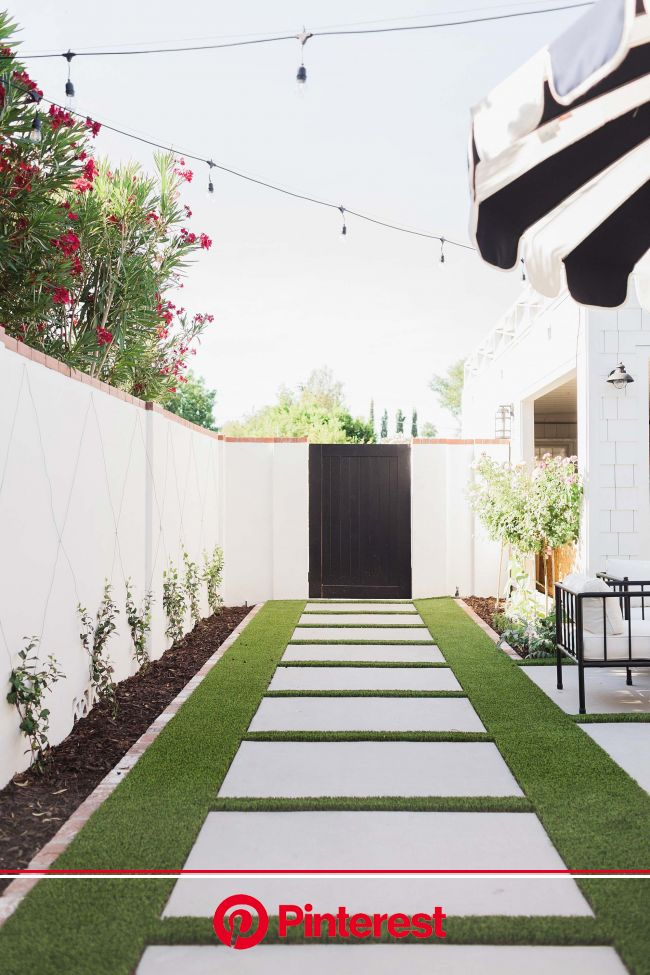 Reasons we went with artificial grass | Diana Elizabeth | Turf backyard, Artificial grass backyard, Small backyard landscaping #beauty,#skincare