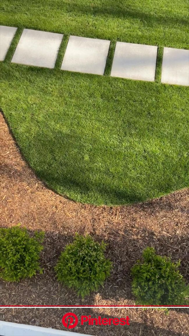 How to Edge a Flower Bed [Video] in 2021 | Small front yard landscaping, Front yard, Front yard landscaping design #beauty,#skincare