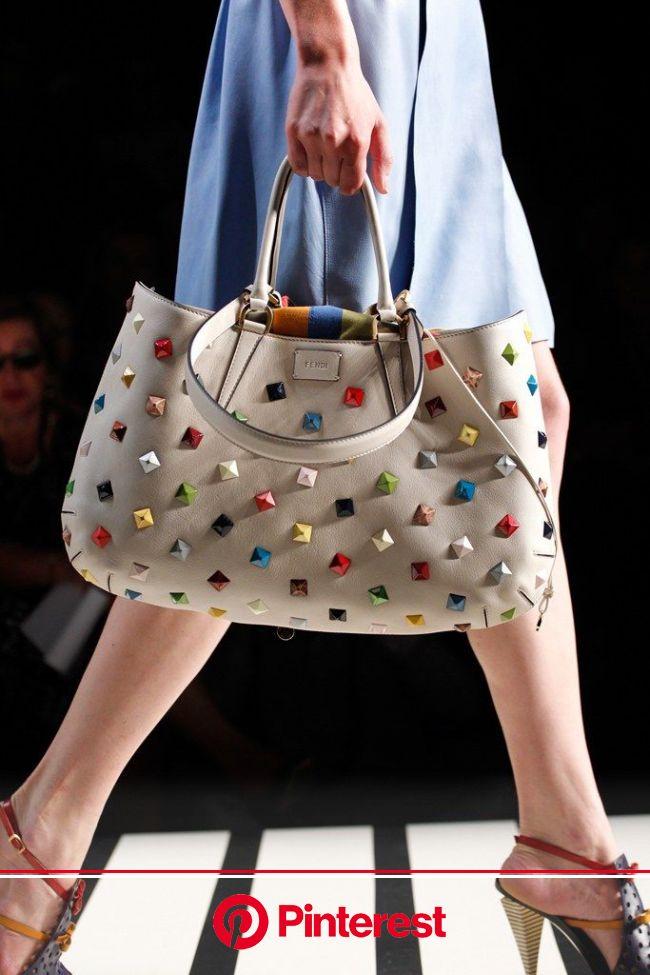 Fendi Spring 2012 Ready-to-Wear Fashion Show | Fashion bags, Studded bag, Studded handbag #beauty,#skincare