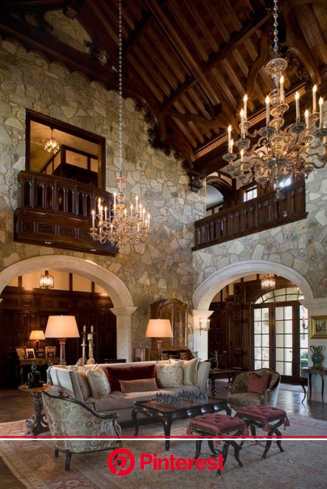 Opulent French-chateau inspired castle in Austin | Lodge house, Medieval home, House design #beauty,#skincare