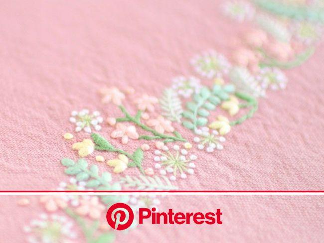 『大好きなこと』 | 手編み刺繍デザイン, ビーズ刺繡, 刺繡柄 #beauty,#skincare