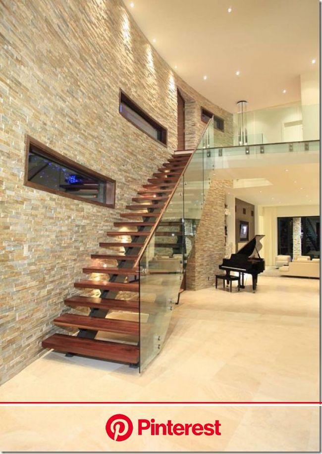 Paredes com Textura: +90 Projetos e Passo a Passo 2020 | Projeto de escada, House, Home #beauty,#skincare