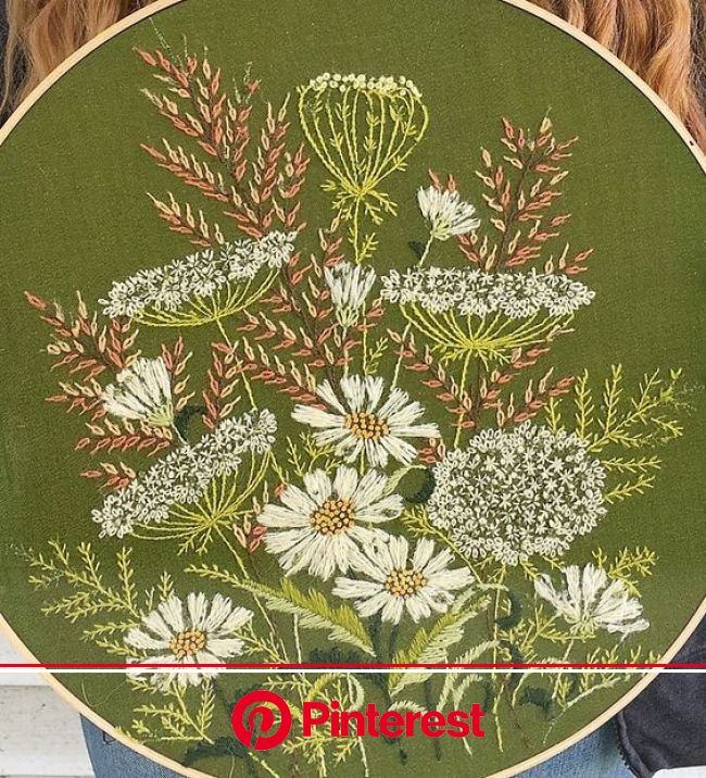 Anyone know the original artist of this gorgeous piece? Found on Pinterest without credit : Embroidery | Hand embroidery art, Embroidery art, Embroide