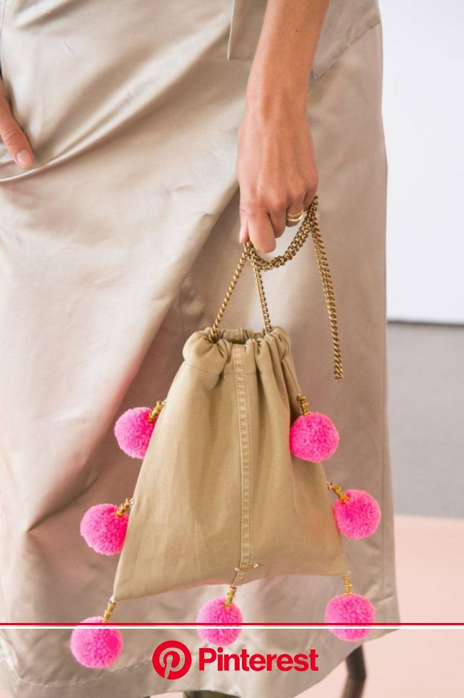 The 50 Most Important Bags from the Spring '17 Runways | Handmade bags, Diy bag designs, Bags #beauty,#skincare