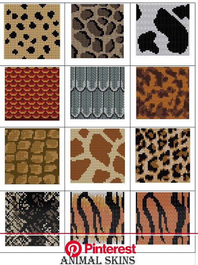 Animal Skin charts pattern by Melanie Nordberg   Tapestry crochet patterns, Knitting charts, Animal skin #beauty,#skincare