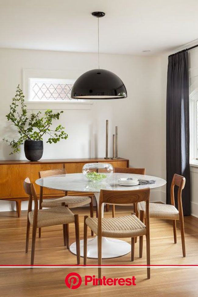 South Shore Decorating Blog | Dining room inspiration, House interior, White round dining table #beauty,#skincare