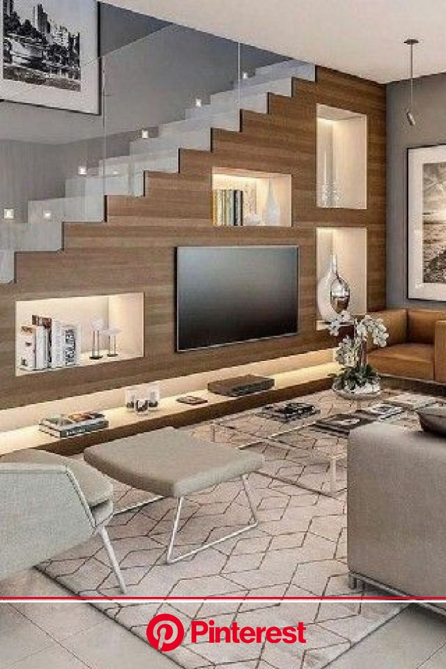 +100 living room ideas in 2021 | Stairs in living room, Home stairs design, Modern house design #beauty,#skincare