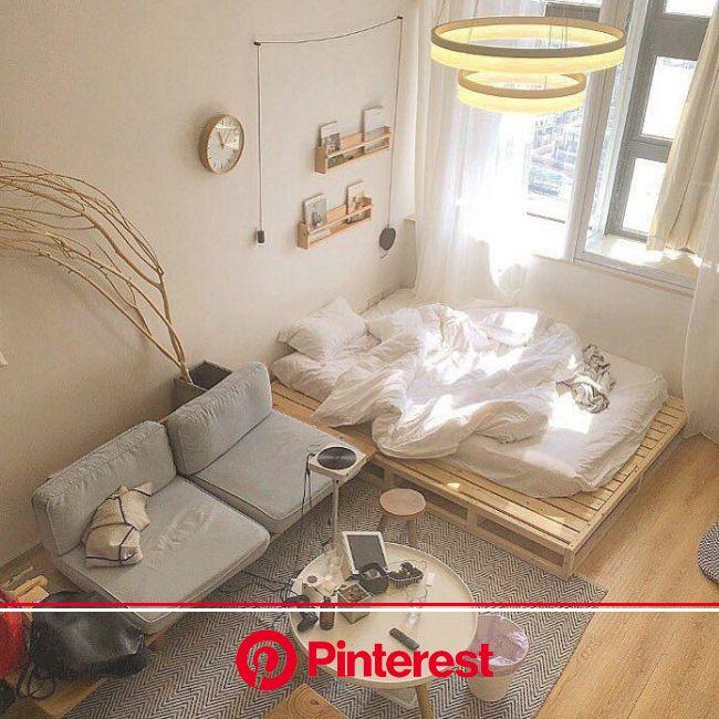 source: https://www.instagram.com/irisssyl/ | Bedroom design, Small room bedroom, Apartment room #beauty,#skincare