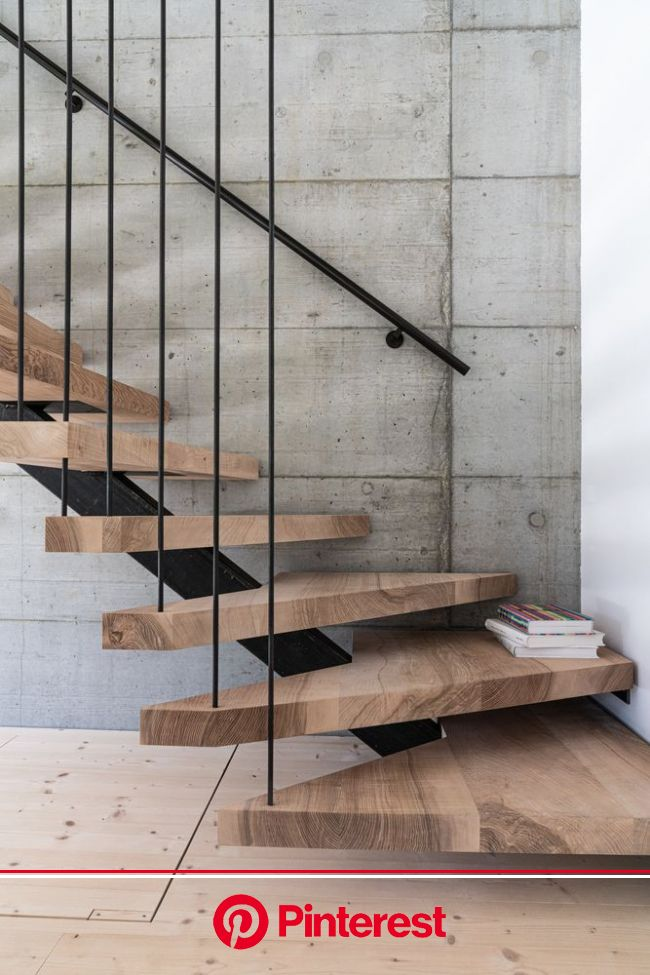 Gallery of House 42 / HILDEBRAND  - 11 | Home stairs design, Stairs design modern, Stairs design #beauty,#skincare