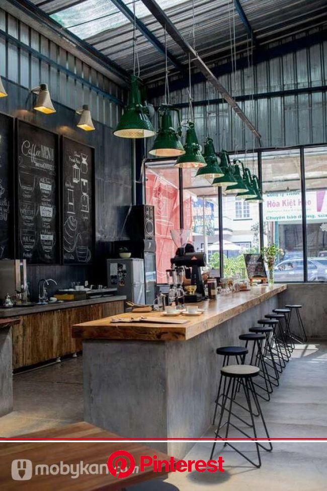 تصميمات ديكورات كافيهات مبتكرة تخطف الانظار | Cafe interior design, Industrial kitchen design, Coffee shops interior #beauty,#skincare