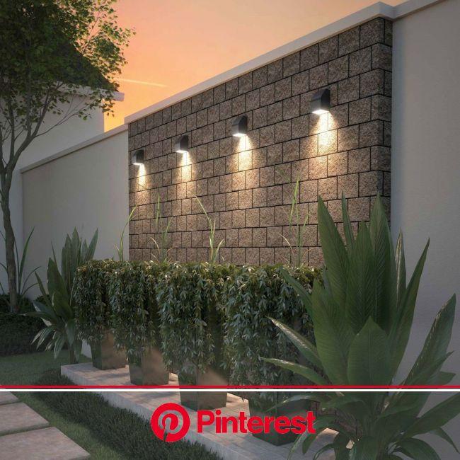 Neutrino Outdoor Wall Light | Outdoor landscape lighting, Outdoor landscaping, Outdoor gardens design #beauty,#skincare