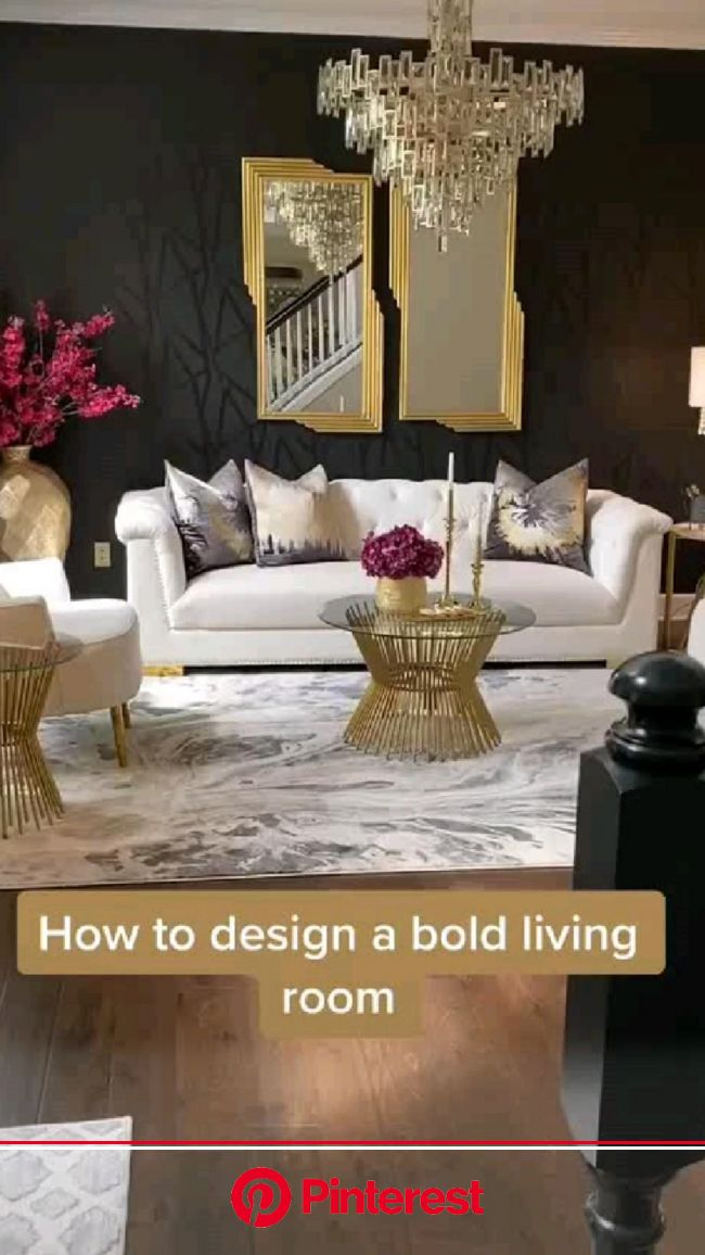 How to design a bold living room✨???? | Pinterest #beauty,#skincare