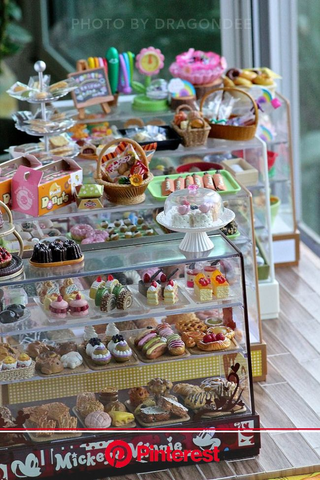 Bakery Display Cases | Bakery display case, Bakery display, Miniature crafts #beauty,#skincare