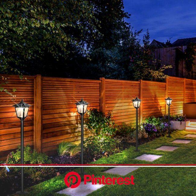#fence | Backyard landscaping designs, Backyard lighting, Small backyard landscaping #beauty,#skincare