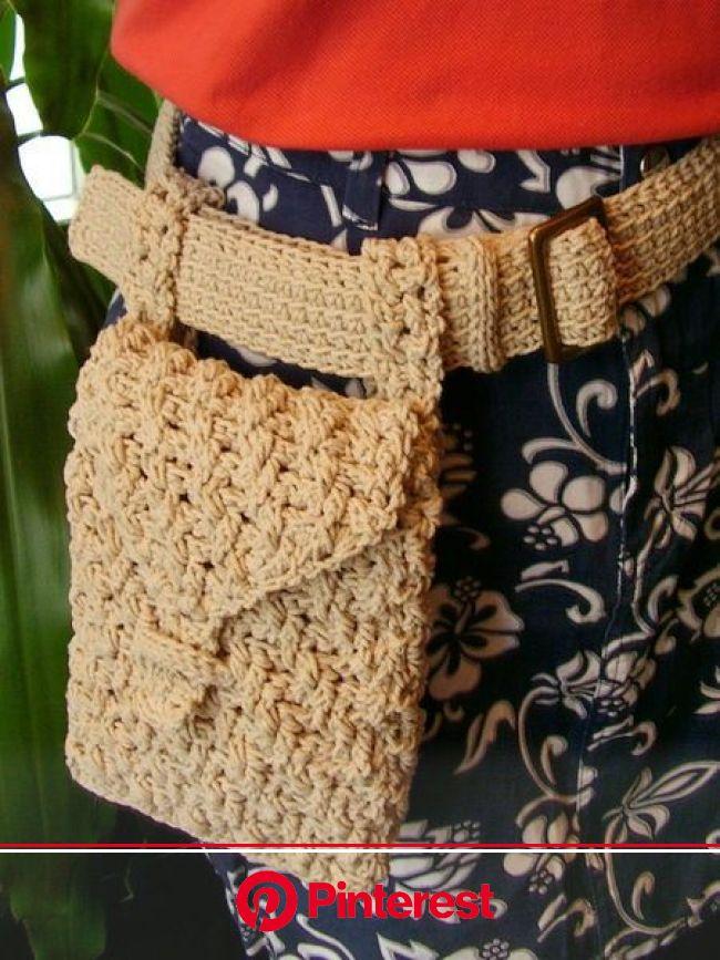 crochet hip bag belt | Crochet belt, Crochet bag, Crochet purse patterns #beauty,#skincare