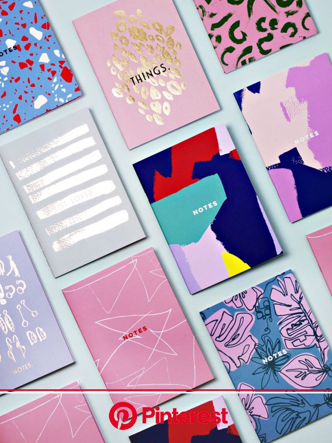 The coolest notebooks around. £6 each, shop now - etsy.com/shop/thecompletistlondon | Graphic design cards, Card design, Book design #beauty,#skincare