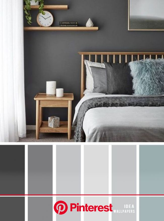 45 Awesome Minimalist Bedroom Design Ideas In 2020 Grey Bedroom Colors Master Bedroom Color Schemes Small Bedroom Decor Beauty Skincare Best Beauty 2020