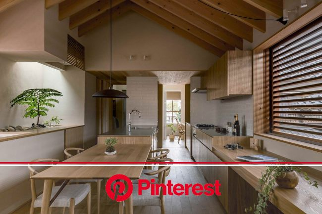 Shoei House By Hearth Architects - IGNANT | Interior design kitchen, Kitchen design, Asian kitchen design #beauty,#skincare