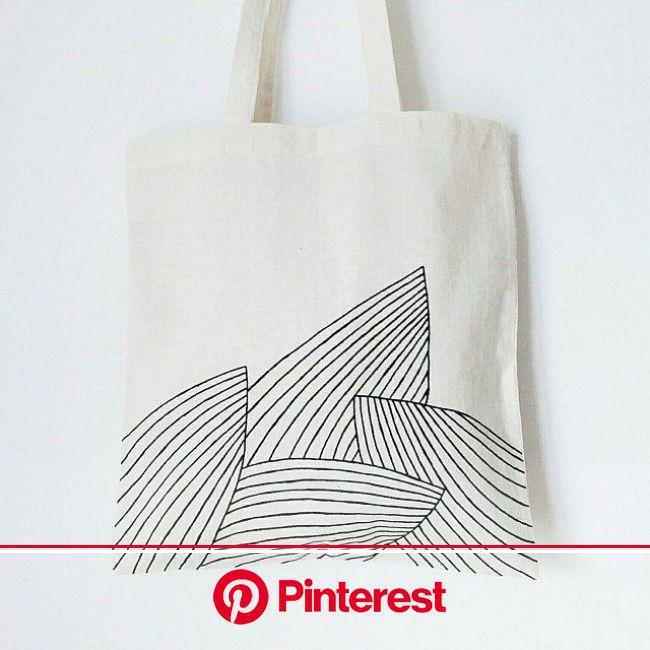 Palm leaves TOTE BAG, hand painted, tropical, minimalist, banana bag, grocery bag, reusable bag, shoulder bag, plant bag, plant lady bag | Pflanztüten