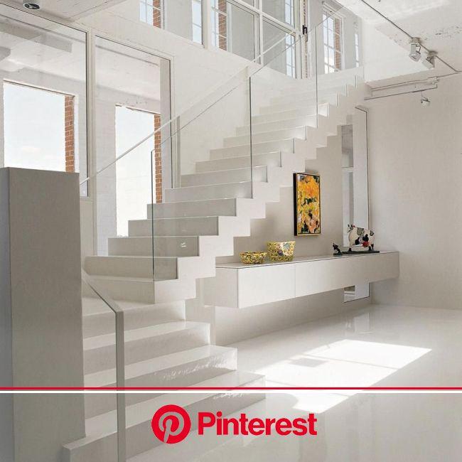 Porcelanato líquido: vantagens, desvantagens e muitas inspirações | Design de escadas moderno, Casa minimalista, Arquitetura de interiores #beauty,#sk