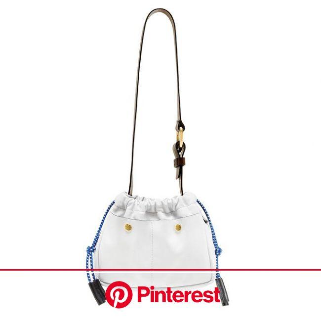 マルニの新作バッグ、柔らかなカーフレザーの「スウィング」&ストライプ柄の「ヴォワレ」 | バッグ, デザイナーバッグ, 巾着 #beauty,#skincare