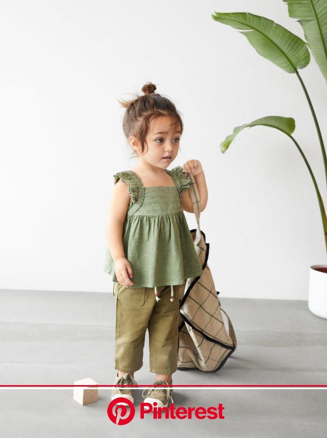 PANTALÓN CROP | Zara kids baby, Kids fashion girl, Kids outfits #beauty,#skincare