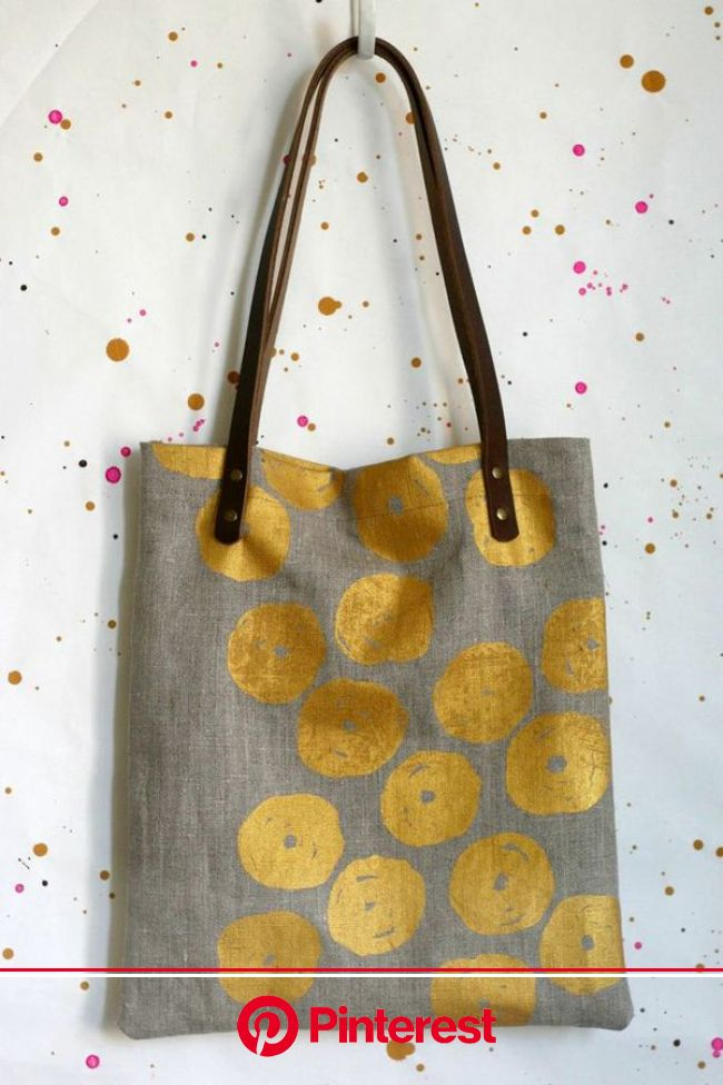 Jennifer Hewett :: New Collection – Today is going to be awesome. | Printed tote bags, Fabric bag, Fabric bags #beauty,#skincare