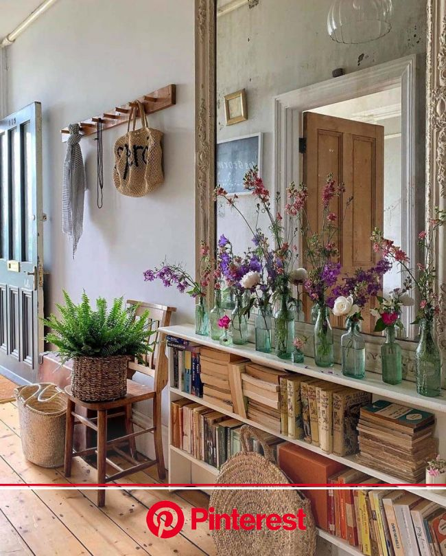 31 Cozy And Inviting Farmhouse Entryway Decorating Ideas | House interior, Home decor, Interior #beauty,#skincare