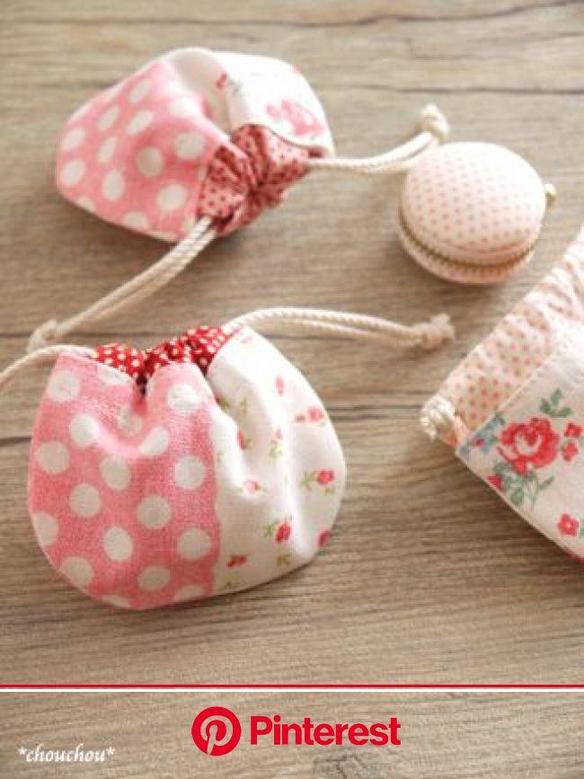 YUWA 春色petit dot - *chouchou* | 手作り 巾着, ハンドバッグの型紙, 小物入れ 手作り #beauty,#skincare
