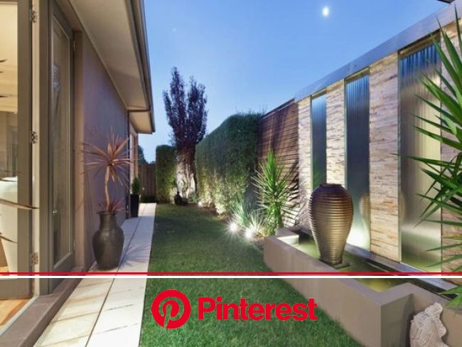 Use every bit of real estate to create a beautiful outdoor area - from RealEstate - Clic… | Modern backyard landscaping, Small backyard landscaping, M