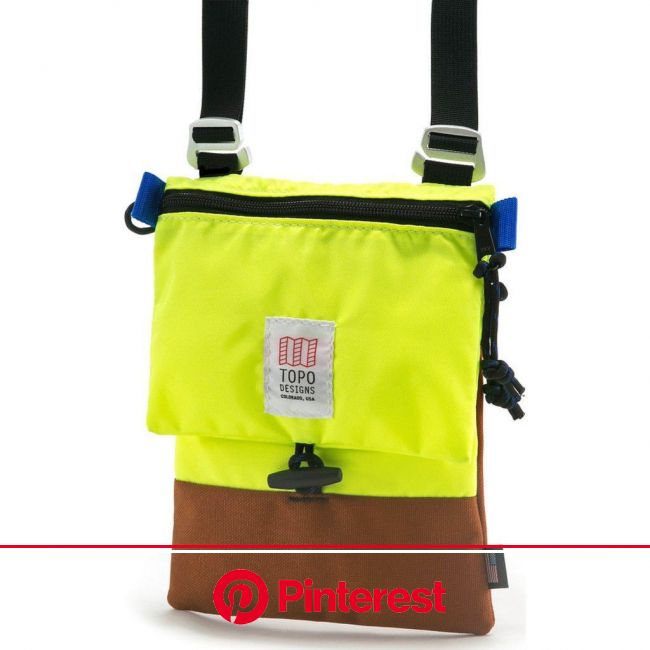 Topo Designs Rover Micro Pack | Clay/Yellow | Casual bags, Fashion bags, Shoulder bag #beauty,#skincare