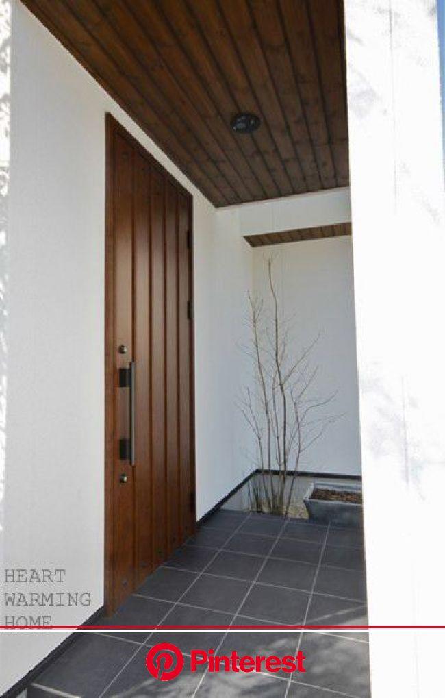 『【Web内覧会】玄関と玄関ポーチ。。』 | 家の外壁, 玄関ポーチ, 玄関 #beauty,#skincare