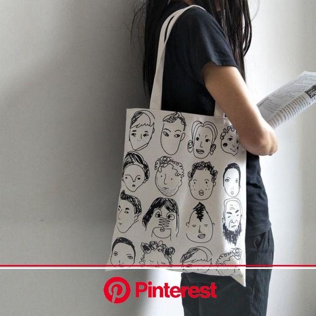 Artistic Eco Reusable Cloth Tote Bag in 2021 | Canvas bag design, Cloth tote bag, Eco bag #beauty,#skincare