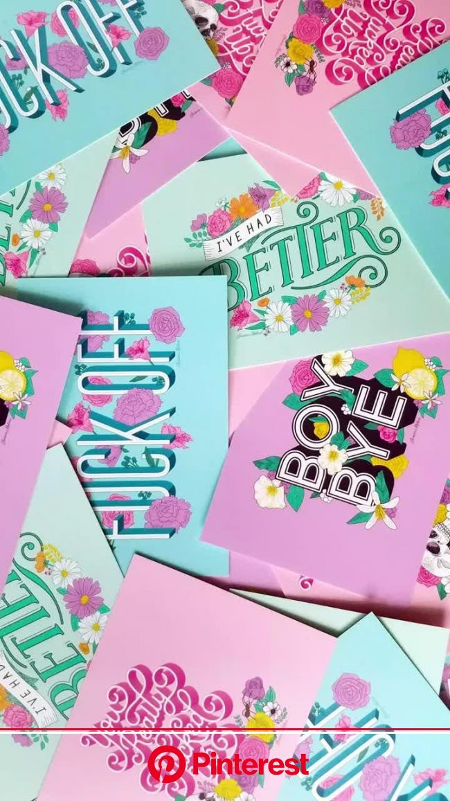 Petty Postcards by Jessica Molina [Video] | Graphic design cards, Card design, Postcard design #beauty,#skincare