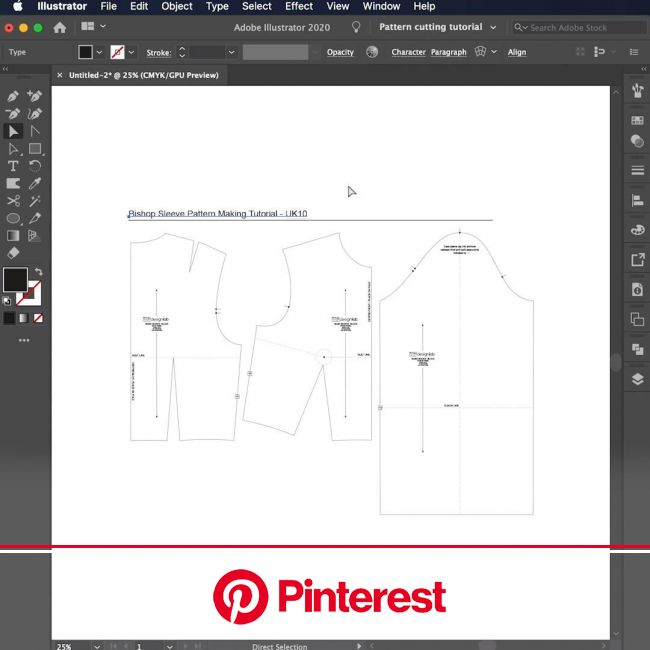Drafting a Bishop Sleeve Pattern Making Tutorial [Video] | Pattern making tutorial, Sewing techniques, Sewing lessons #beauty,#skincare