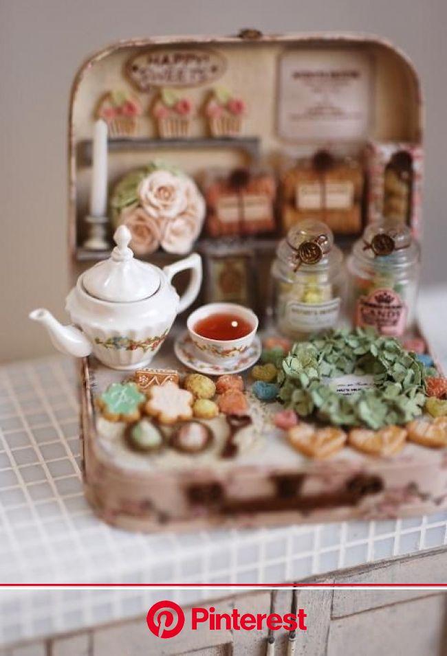 nunu's house (@miniature_MH) | Miniature food, Miniature crafts, Miniature dolls #beauty,#skincare