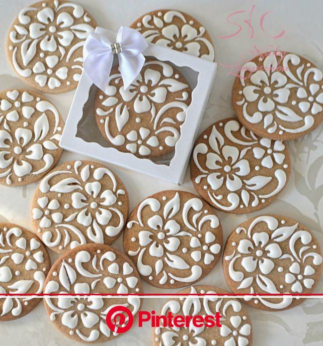 WEDDING COOKIES   Wedding cookies, Cookie decorating, Fancy cookies #beauty,#skincare