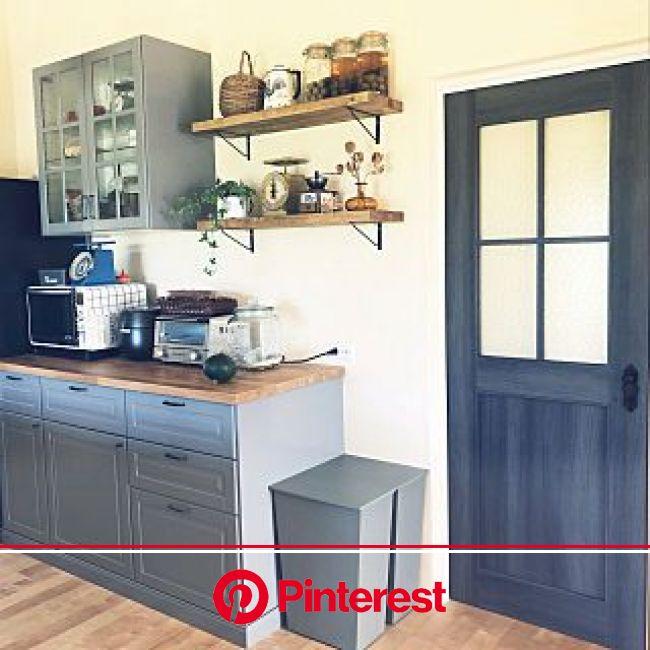 キッチン/再投稿です/シェルフDIY/ikeaの食器棚/LIXIL...などのインテリア実例 - 2019-02-03 15:27:25 | RoomClip(ルームクリップ) | リビング キッチン, Ikea カップボード, 食器棚 ikea #beauty,#skincare