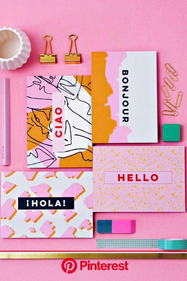 Postcard art with international greetings in 2021 | Graphic design branding, Creative packaging design, Postcard design #beauty,#skincare