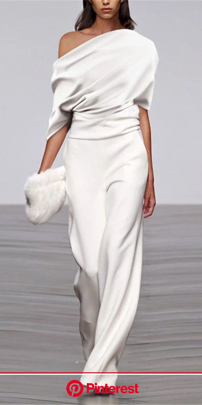 Joseph, Look #14 in 2019 | Fashion, Joseph fashion, Dresses   -   -  Fall and Summer jumpusit for women, comfy materi… | Jumpsuit fashion, Jumpsuit el