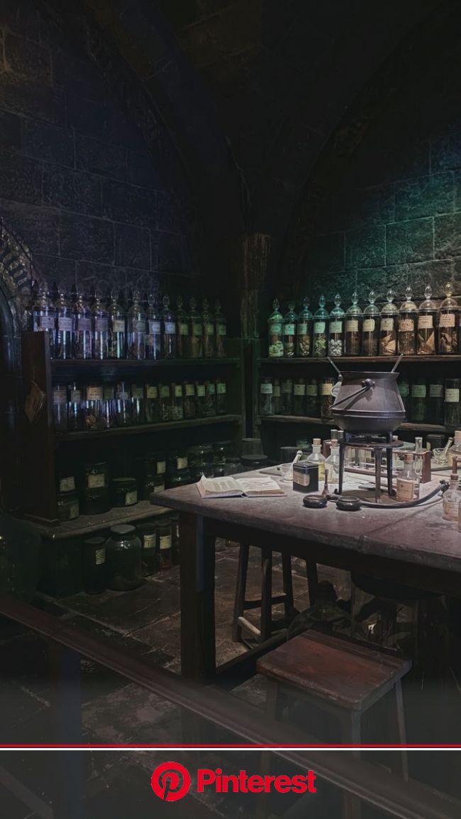 potions class room | Hogwarts visualization, Shifting hogwarts, Slytherin aesthetic #beauty,#skincare