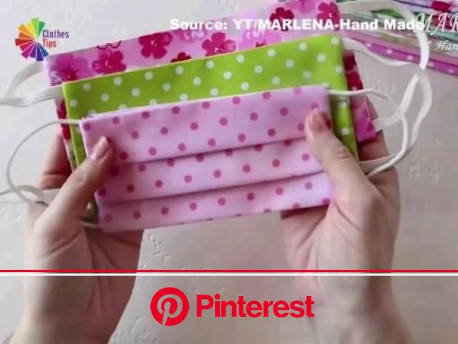 APRENDA A FAZER SUA MÁSCARA ❤ [Video] in 2020   Diy sewing gifts, Easy face mask diy, Diy sewing pattern #beauty,#skincare