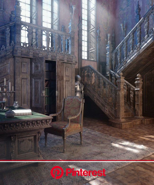 3D Interior Design Renderings by Vladimir Kuzmin - Steampunk Ages | Abandoned mansions, Abandoned houses, Abandoned mansion #beauty,#skincare
