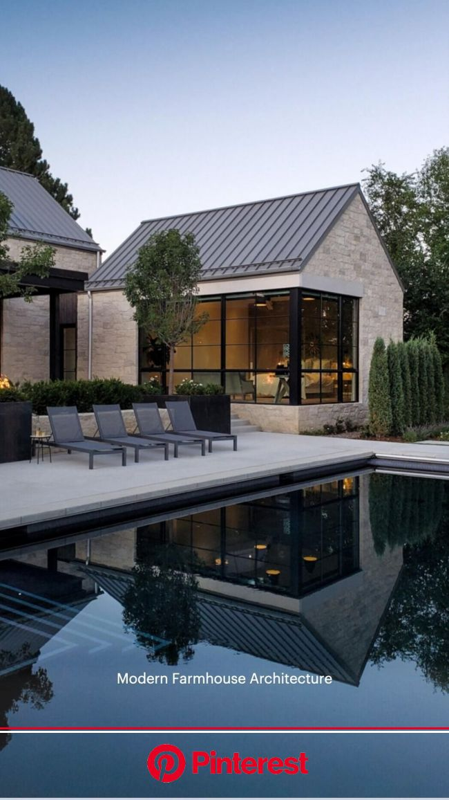 Modern Farmhouse Architecture | Pinterest #beauty,#skincare